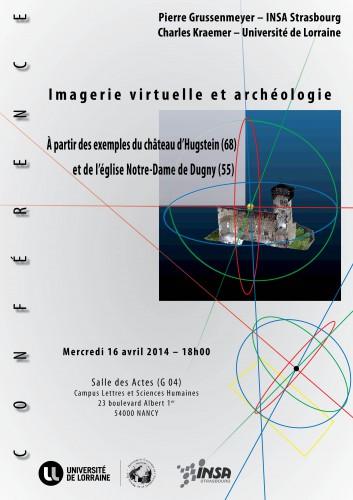 Conférence Imagerie virtuelle