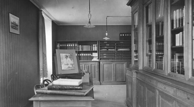 Programme de recherche autour de la création des bibliothèques d'art et d'archéologie : « Nancy-Paris 1871-1938»