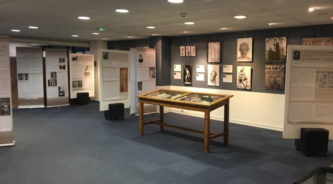 Exposition : «Le rôle de l'image dans l'enseignement d'histoire de l'art…» (Metz, BU Saulcy)