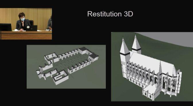 L'évocation architecturale de l'abbaye Saint-Vanne : regards croisés entre archéologues et architecte perspectiviste 3D (vidéo)